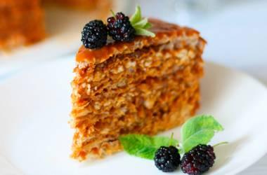 Вафельный торт по рецепту Эктора Хеменеса Браво