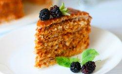 Вафельний торт за рецептом Ектора Хеменеса Браво