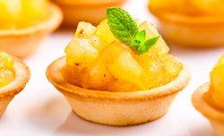 Тарталетка с яблоками