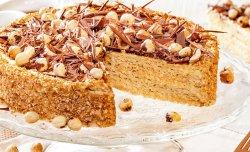 Вафельный торт «Ласунка»