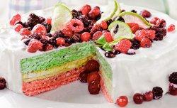 Вафельный торт «Ягодный»