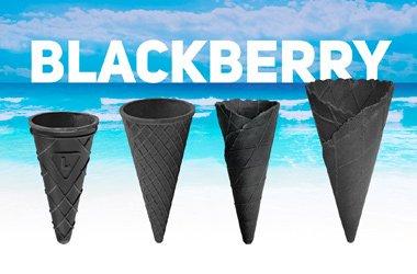 Черный рожок для мороженого уже в продаже!