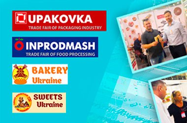 LEKORNA took part at all-Ukrainian week of Food Technologies in Kiev