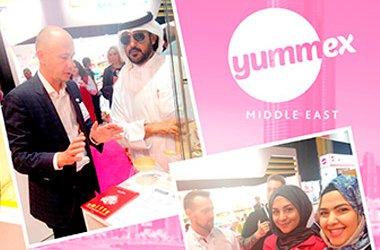 Lekorna на выставке Yummex Middle East 2016 в Дубаи